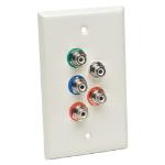 Tripp Lite B136-100-WP-1 AV receiver White AV extender
