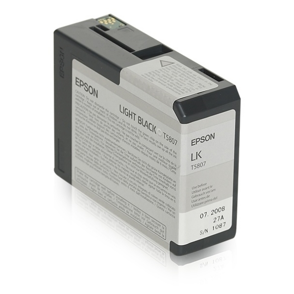 Epson C13T580700 (T5807) Ink cartridge bright black, 80ml