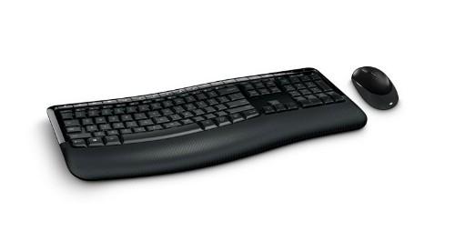 Microsoft Wireless Comfort Desktop 5050 keyboard RF Wireless Black