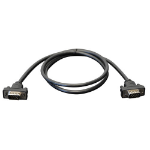 Tripp Lite Low-Profile VGA Coax Monitor Cable, High Resolution Cable with RGB Coax (HD15 M/M), 0.91 m (3-ft.)