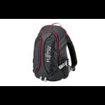 "Fujitsu Sportive Backpack 15 notebook case 39.6 cm (15.6"") Black, Red"