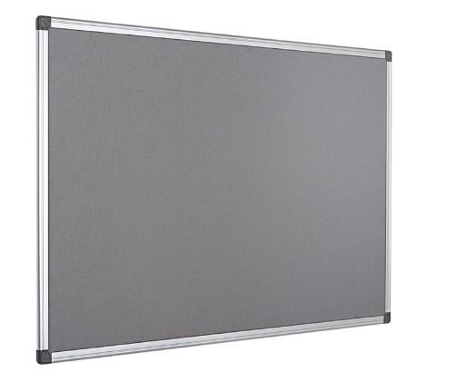 Bi-Office FA0242170 insert notice board Indoor Grey Aluminium