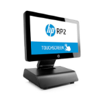 """HP RP2 2000 2GHz Intel Celeron J1900 with Intel HD Graphics (2.00 GHz, 2 MB cache, 4 cores) 14"""" 1366 x 768pixels Touchscreen All-in-one Black"""