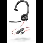 POLY Blackwire 3310 Headset Head-band Black