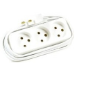 Microconnect GRUELU3H015 power extension 1.5 m 3 AC outlet(s) White
