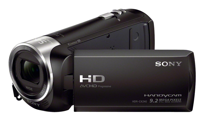 Camcorder Hdr-cx240eb Full Hd Micro Sd Black