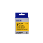 Epson Strong Adhesive Tape - LK-3YBW Strng adh Blk/Yell 9/9