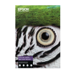 Epson Fine Art Cotton Textured Natural A2 25 Sheets