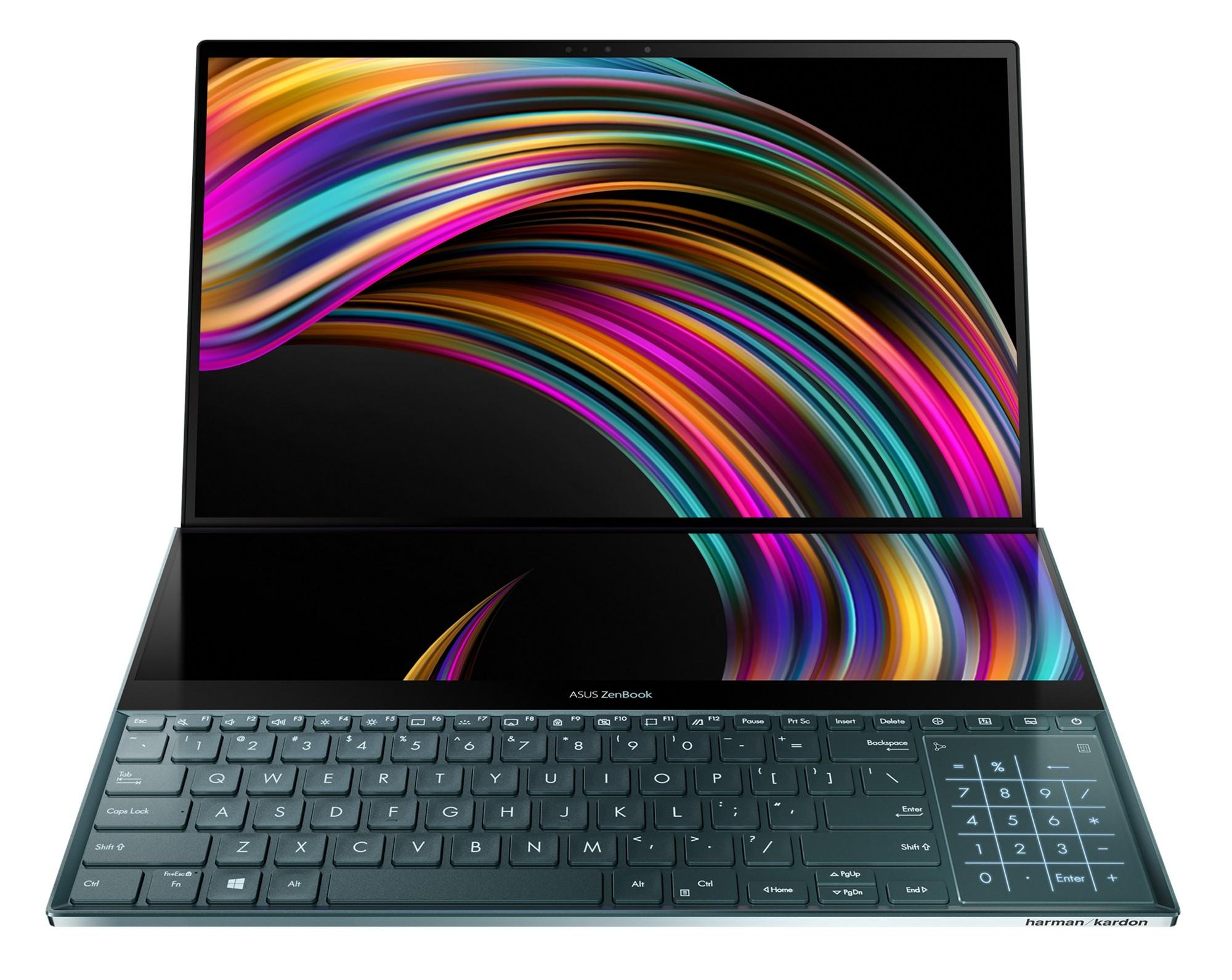 ASUS ZenBook Pro Duo UX581GV-H2001T notebook Black 39.6 cm (15.6