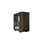 be quiet! Pure Base 600 Window Midi-Tower Black,Orange computer case