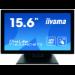 "iiyama ProLite T1634MC-B7X touch screen monitor 39.6 cm (15.6"") 1920 x 1080 pixels Black Multi-touch Multi-user"