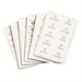 Durable 1455-02 White non-adhesive label