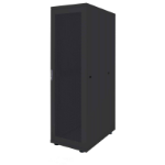 "Intellinet 19"" Basic Server Cabinet, 42U, 2033 (h) x 600 (w) x 1000 (d) mm, Max 600kg, Flatpack, Black"
