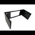 Lanview LVR250704 rack cabinet 4U Wall mounted rack Black