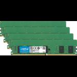 Crucial 32(4 x 8)GB DDR4-2666 RDIMM 32GB DDR4 2666MHz ECC memory module