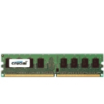 Crucial DDR2 PC2-5300 DIMM 2GB memory module 667 MHz