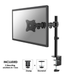 "Newstar NM-D135BLACK 30"" Black flat panel desk mount"