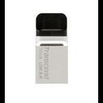 Transcend JetFlash 880 OTG 16GB 16GB USB 3.0/Micro-USB Black,Silver USB flash drive