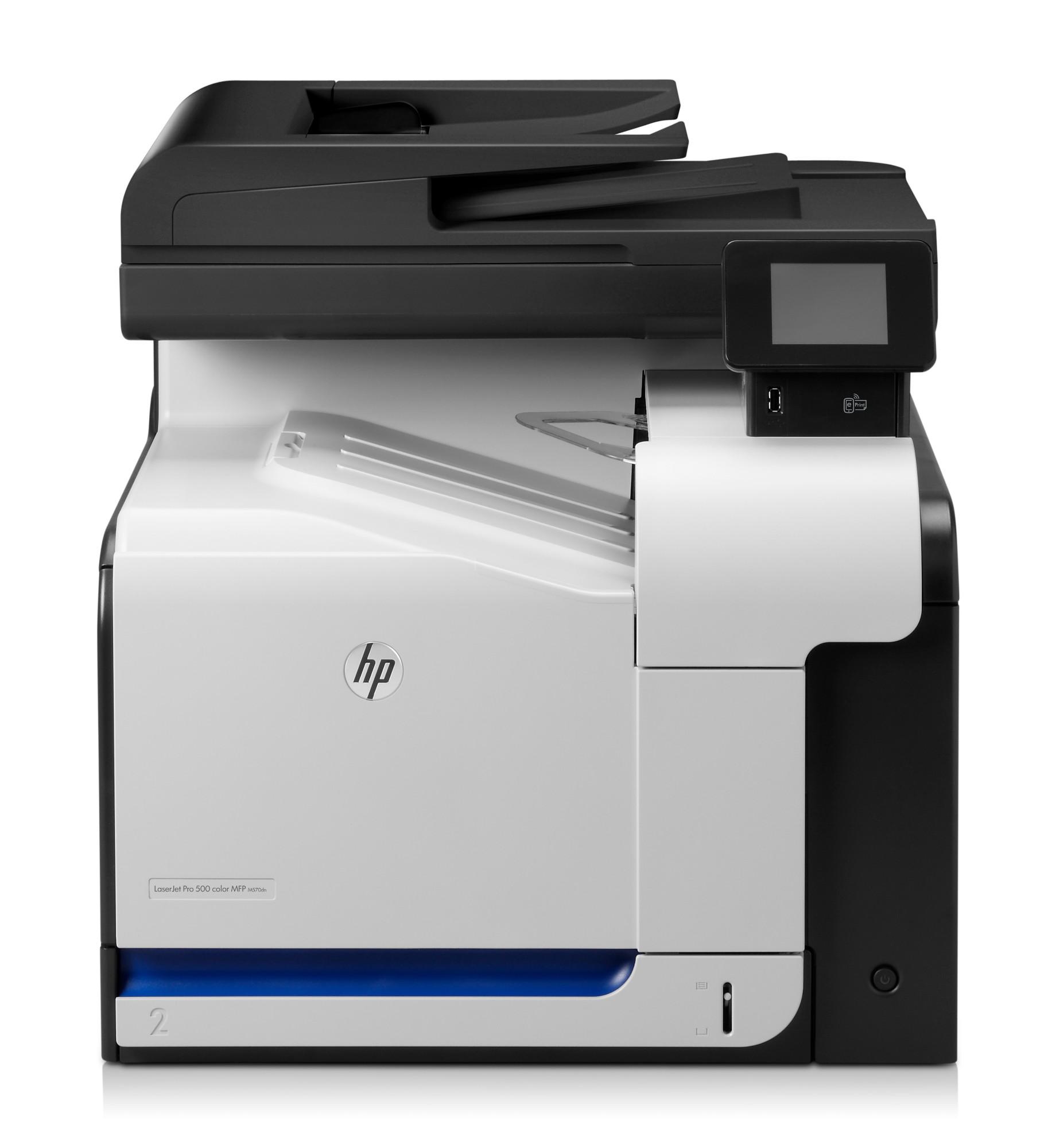 HP LaserJet M570dn Laser 31 ppm 600 x 600 DPI A4