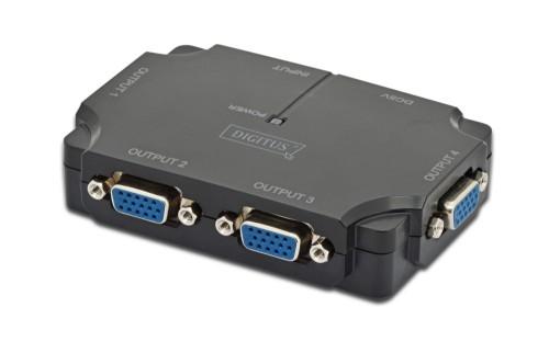 Digitus VGA 350MHz, 4-Port