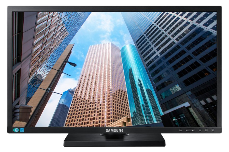 "Samsung S24E450B 24"" Full HD LED Black computer monitor"