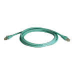 Tripp Lite 10Gbps, Cat6a, 7.62m 7.62m Cat6a Turquoise networking cable