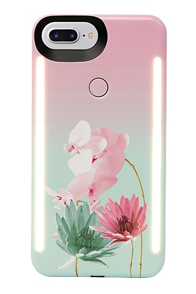 Lumee Duo For iPhone 8+ - Desert Flower
