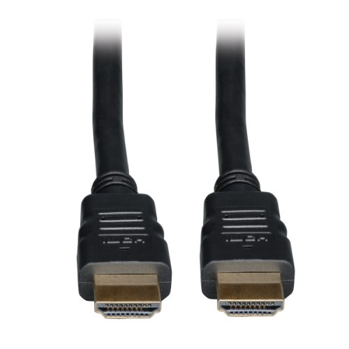Tripp Lite High Speed HDMI Cable with Ethernet, Digital Video with Audio (M/M), 0.91 m (3-ft.)