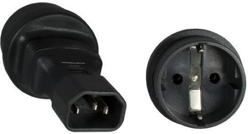 Microconnect PE14CEEAD power plug adapter C14 Type F Black