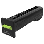 Lexmark 72K0X10 Toner black, 33K pages
