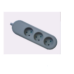 Microconnect GRU0033DK 3AC outlet(s) 3m Grey power extension