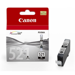 Canon 2933B007 (521 BK) Ink cartridge black, 1.25K pages, 9ml
