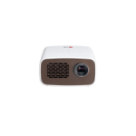 LG PH300 Portable projector 300lúmenes ANSI DLP 720p (1280x720) Café, Color blanco video proyector