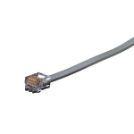 "Black Box RJ11/RJ11, 1.2m telephony cable 47.2"" (1.2 m) Grey"