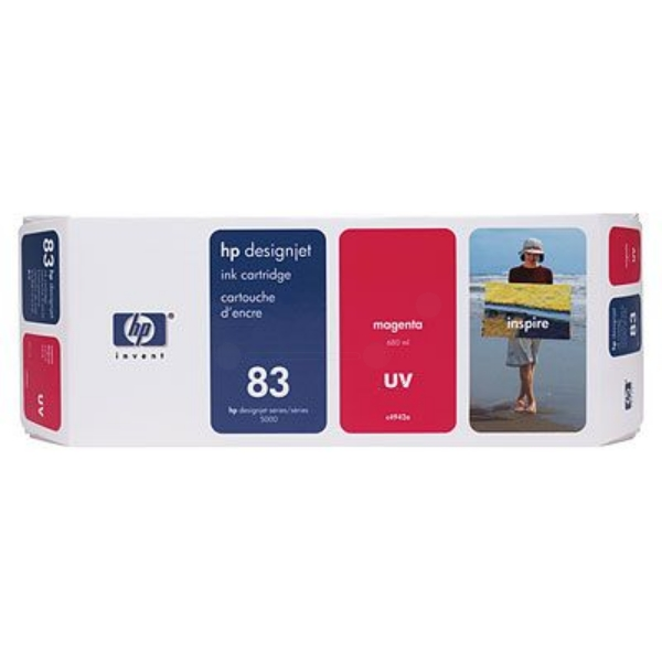 HP C4942A (83) Ink cartridge magenta, 680ml