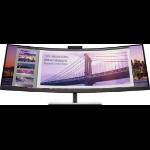 """HP S430c 110.2 cm (43.4"""") 3840 x 1200 pixels WUXGA LED Black, Silver"""