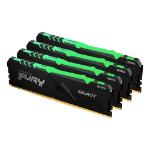 Kingston Technology FURY Beast RGB memory module 128 GB 4 x 32 GB DDR4 3600 MHz