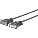 Vivolink PRORS5 serial cable Black 5 m RS-232