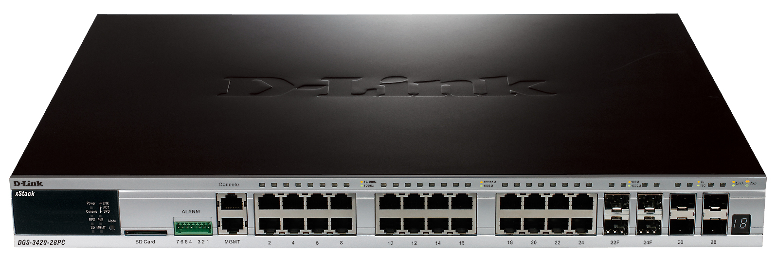 D-Link DGS-3420-28PC network switch