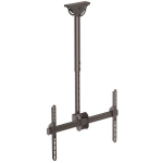 StarTech.com Flat-Screen TV Ceiling Mount - Short Pole - Full Motion flat panel ceiling mount FPCEILPTBSP