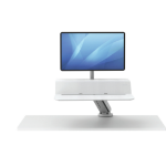 Fellowes Lotus RT Sit-Stand Workstation – Single White