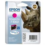 Epson C13T10034010 (T1003) Ink cartridge magenta, 635 pages, 11ml