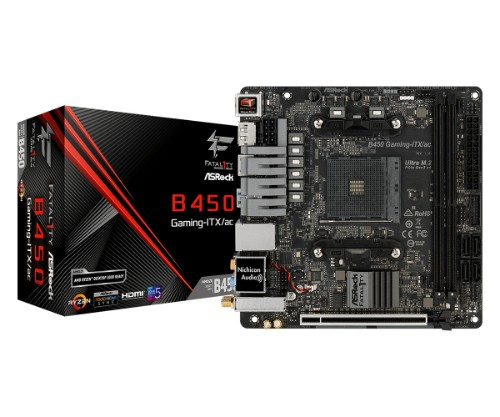 Asrock Fatal1ty B450 Gaming-ITX/ac motherboard Socket AM4 Mini ITX AMD B450