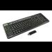 2-Power KEY1004DE RF Wireless QWERTZ German Black keyboard