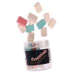 Whitecroft Essentials Value Eraser Assorted Colours PK25