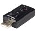 StarTech.com Tarjeta de Sonido 7,1 Virtual USB Externa Adaptador Conversor