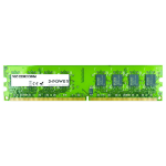 2-Power 1GB DDR2 667MHz DIMM Memory - replaces V753001GBD