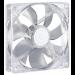 Cooler Master BC 120 CLEAR FRAME WHITE LED FAN - 120MM  1200RPM