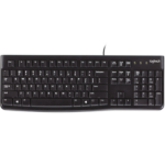 Logitech K120 keyboard USB QWERTY UK English Black