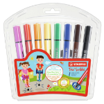 Stabilo Trio Scribbi Bold Multicolour 8pc(s) felt pen